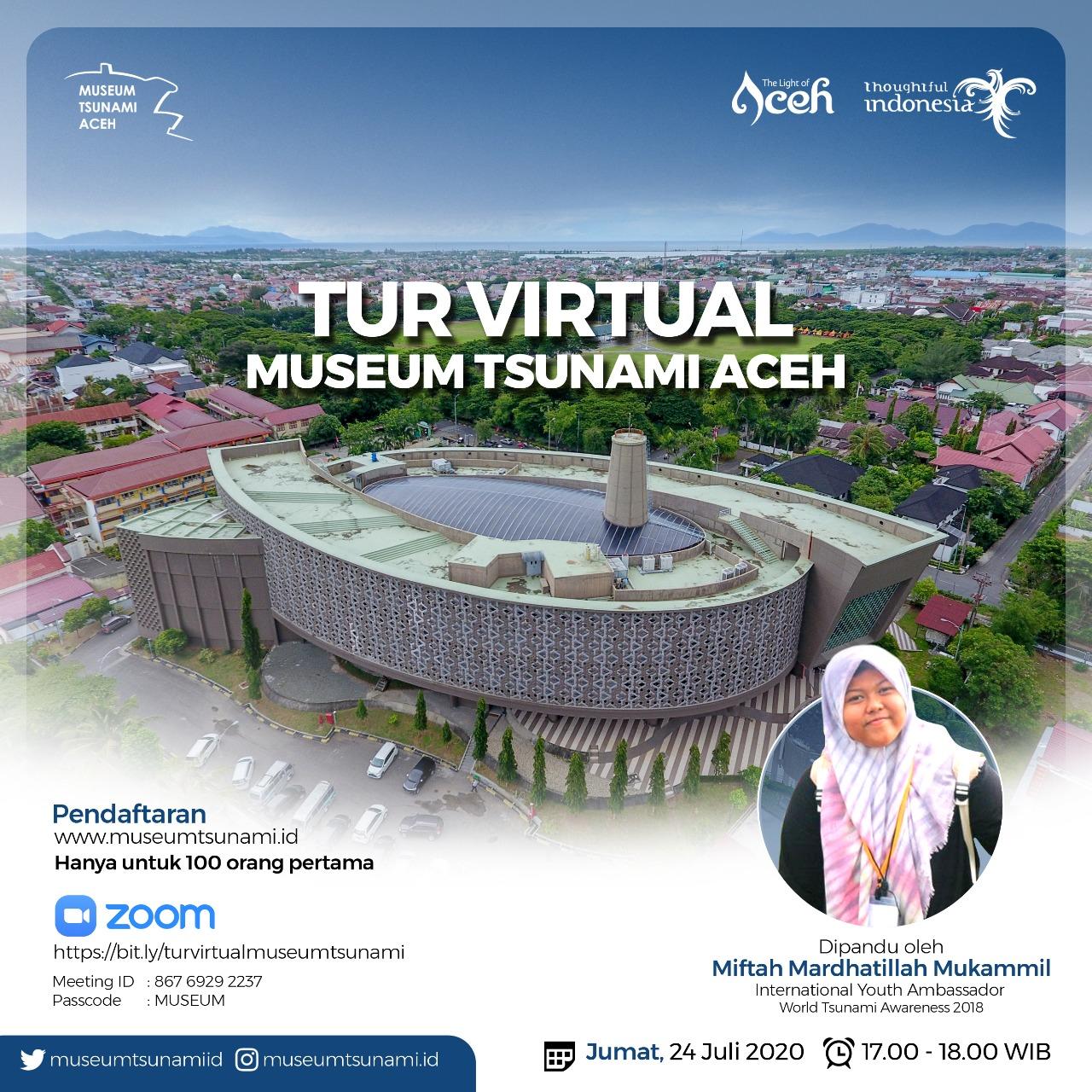 Virtual tour museum tsunami aceh